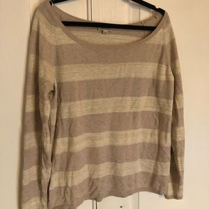 Gold and light brown sweater